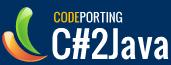CodePorting C#2Java Visual Studio Addin