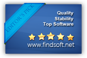 Rated 5-star by Findsoft